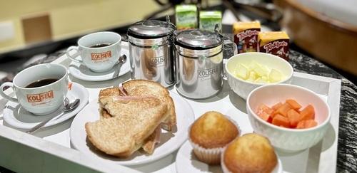 Promoção café da manhã cortesia